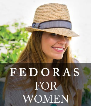 womens fedora hats