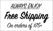 always enjoy free shipping over $75