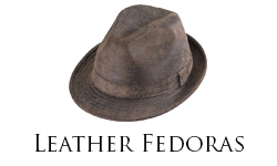 Leather Fedoras Sub Cat