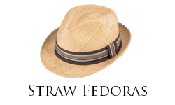 Straw Fedoras Sub Cat
